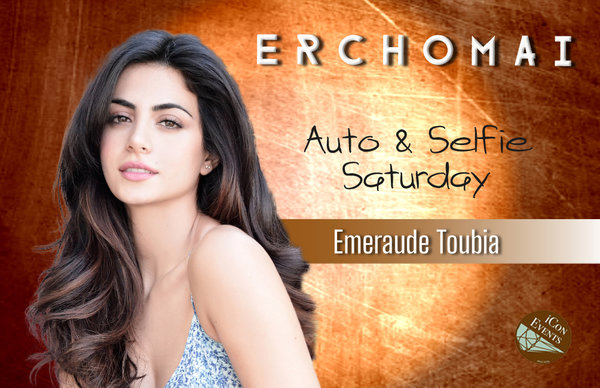 Emeraude Toubia Auto&Selfie Saturday