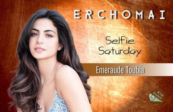 Emeraude Toubia Selfie Saturday